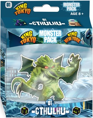 King Of Tokyo Board Game: Cthulhu Monster Pack