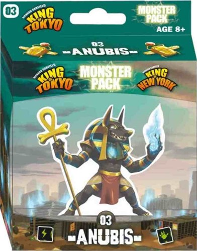King Of Tokyo Board Game: Anubis Monster Pack