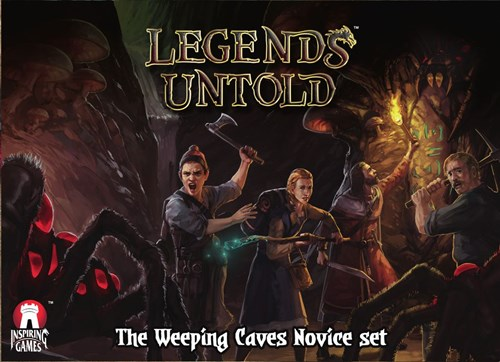 Legends Untold Card Game: The Weeping Caves Novice Set