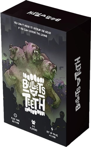 Bullets And Teeth Card Game