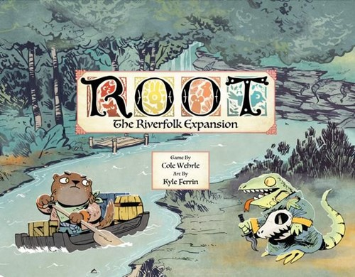 Root Board Game: Riverfolk Expansion