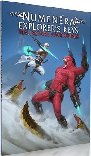 Numenera RPG: Explorers Keys Ten Instant Adventures