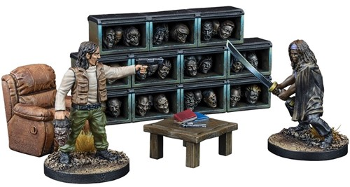 The Walking Dead: All Out War The Governor's Trophy Room Expansion