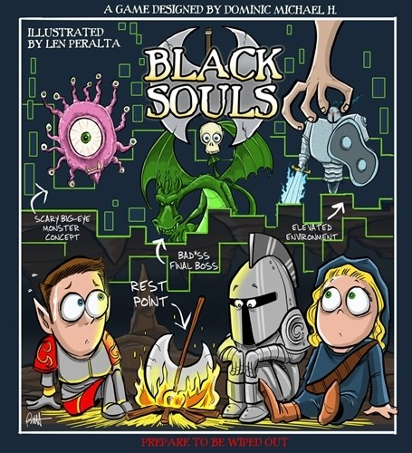 Black Souls Board Game