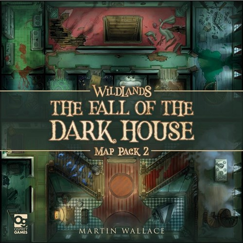 Wildlands Board Game: Map Pack 2: The Fall Of The Dark House