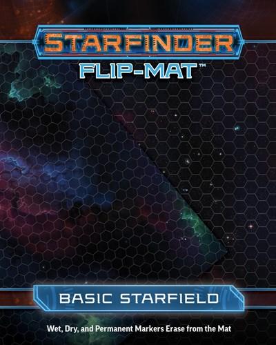 Starfinder Rpg Flip Mat Basic Starfield