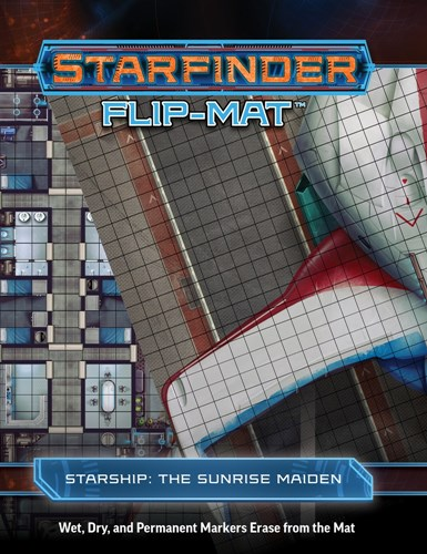 Starfinder RPG: Flip-Mat Starship - The Sunrise Maiden