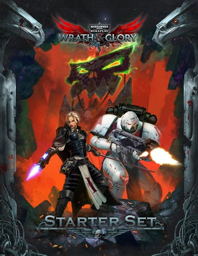 Warhammer 40000 Roleplay: Wrath And Glory Starter Set