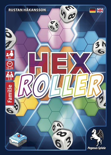 HexRoller Dice Game (Pegasus Edition)