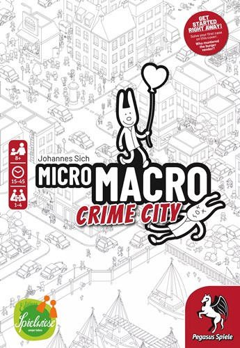 MicroMacro Crime City Card Game