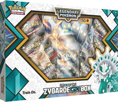 Pokemon CCG: Shiny Zygarde GX Box