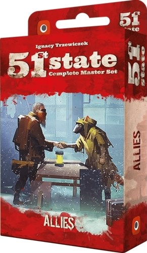 51st State Card Game: Allies Expansion