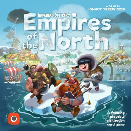 Imperial Settlers Card Game: Empires Of The North