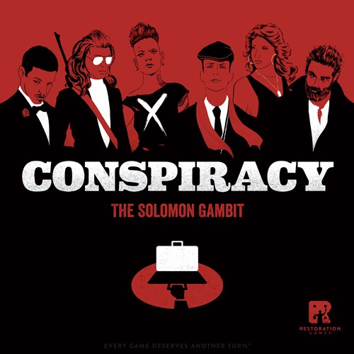 Conspiracy Board Game: The Solomon Gambit