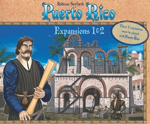 Puerto Rico Board Game: Expansions 1 And 2