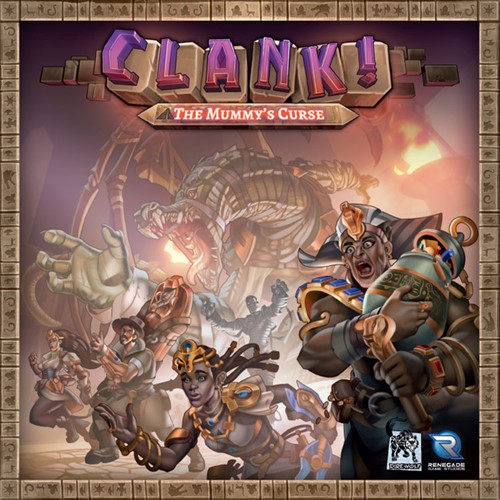 Clank! Deck Building Adventure Board Game: The Mummys Curse Expansion