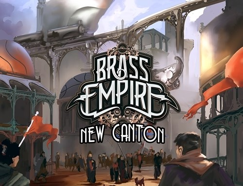 Brass Empire Card Game: New Canton