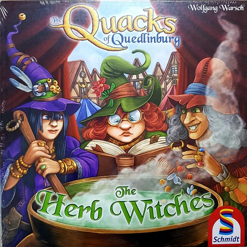 The Quacks Of Quedlinburg Board Game: Herb Witches Expansion