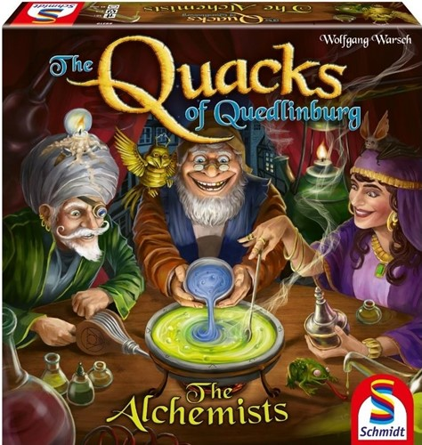 The Quacks Of Quedlinburg Board Game: The Alchemists Expansion