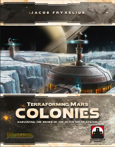 Terraforming Mars Board Game: Colonies Expansion