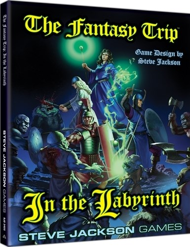 The Fantasy Trip RPG: In The Labyrinth