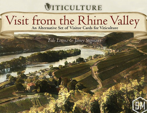 Viticulture Board Game: Visit From The Rhine Valley Expansion