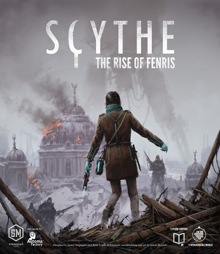 Scythe Board Game: Rise Of Fenris Expansion