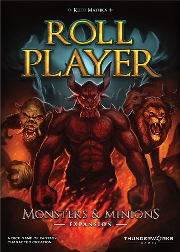 Roll Player Dice Game: Monsters And Minions Expansion