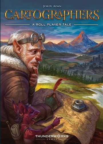 Cartographers Card Game: A Roll Player Tale