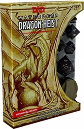 Dungeons And Dragons RPG: Waterdeep Dragon Heist Dice Set