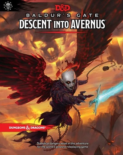 Dungeons And Dragons RPG: Baldur's Gate: Descent Into Avernus