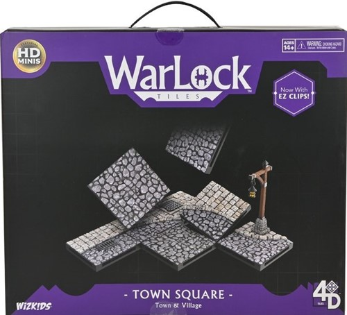 WarLock Tiles System: Town And Village - Town Square