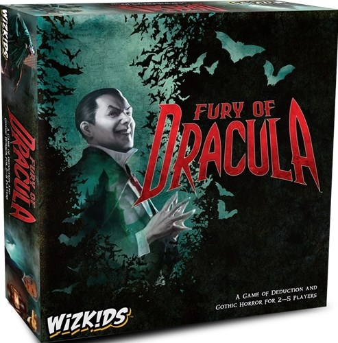 Fury Of Dracula Board Game: 4th Edition