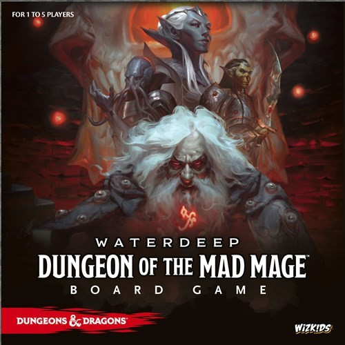 Dungeons And Dragons Board Game: Dungeon Of The Mad Mage Edition