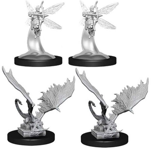 Dungeons And Dragons Nolzur's Marvelous Unpainted Minis: Sprite And Pseudodragon