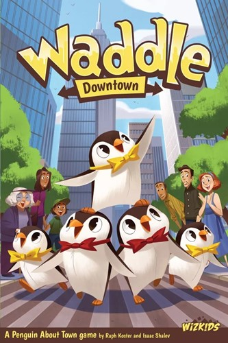 Waddle Board Game