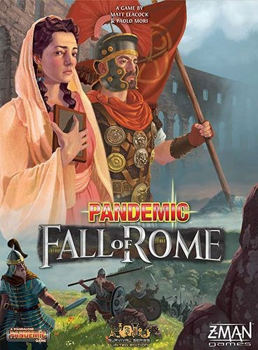 Pandemic Board Game: The Fall of Rome
